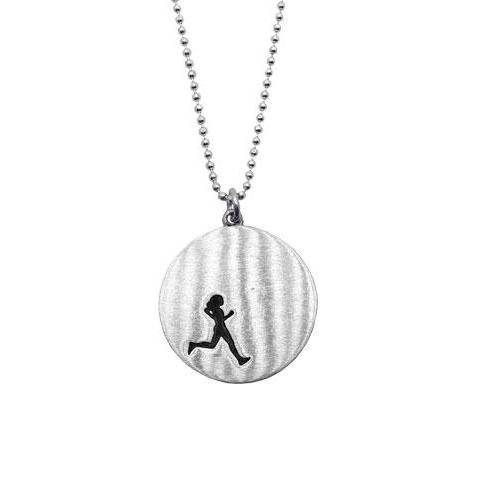 Female Runner Necklace