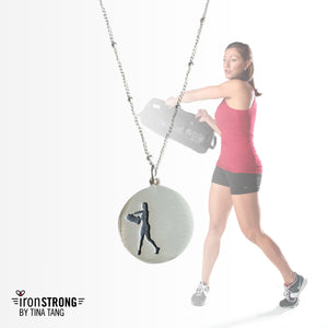 Iron Strong Sandbag Necklace