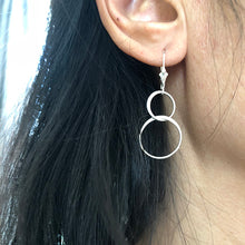 Double Circles Earrings