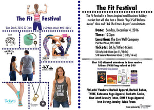 Fit Festival Iron Strong Jewelry