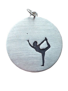 Yoga Lord of the Dance Pose (Silver)