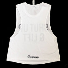 Shut Up & Lift Crop Muscle Tank