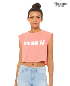 Strong AF Cropped Festival Tee