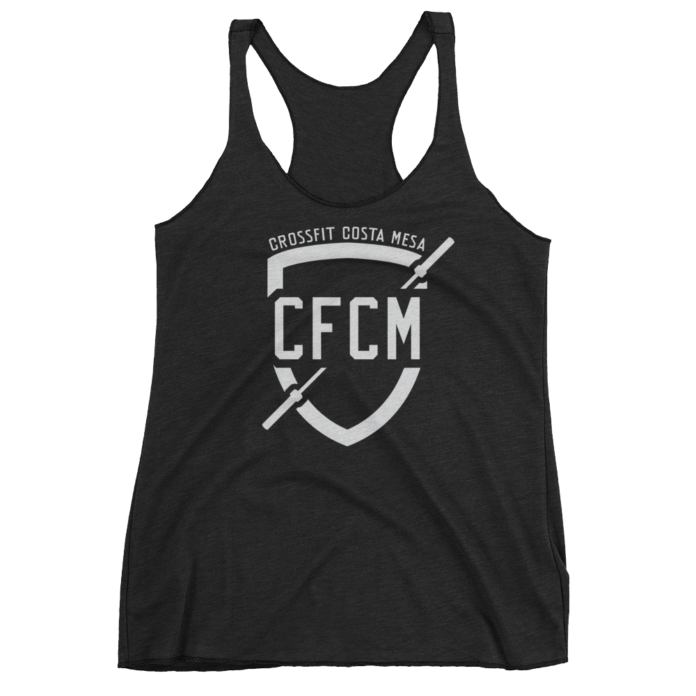 Women's CFCM Shield Racerback Tank