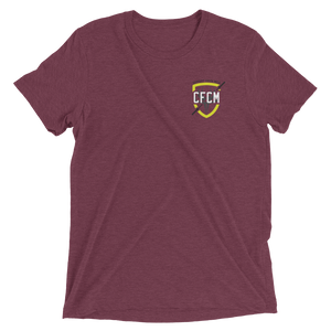 Men's Tri-Blend Shield Tee