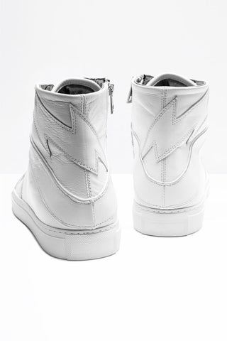 High Flash Sneaker - All White