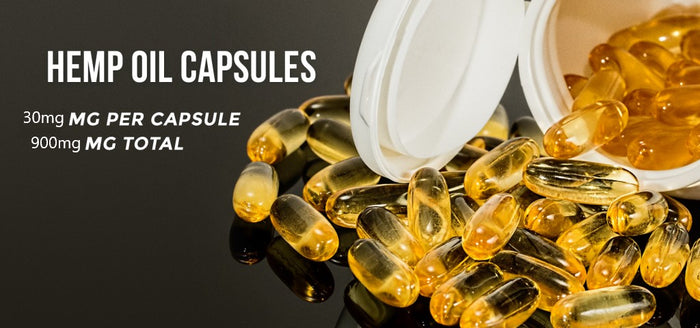 Hemp Oil Capsules - 900MG
