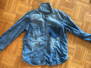 Printed Denim Women's Size Medium