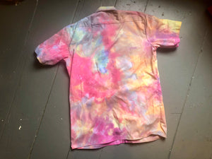 Hand Dyed Short Sleeve Work Shirt