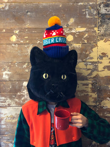 Laser Cats Winter Hats