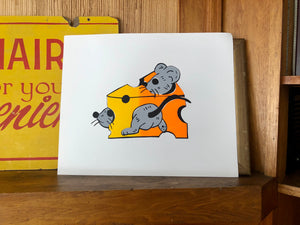 'Sunset Cheese' Print