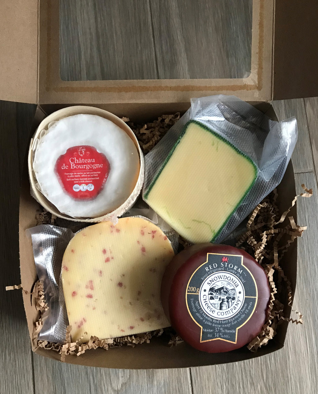Gift Set #1: Monthly Cheese Lover's Box