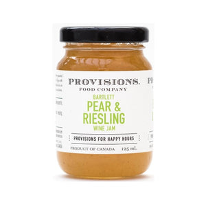 Provisions Food Company - Bartlett Pear & Riesling Jam (125mL)