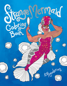 Strange Mermaid Coloring Book