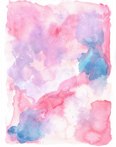 Watercolor Digital Stock Textures