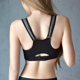 Chest Open Zipper Sporting Bra Shockproof Professional - CLEVERFITS