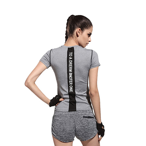 Yoga Shirts for Fitness Running Sports T Shirt - CLEVERFITS