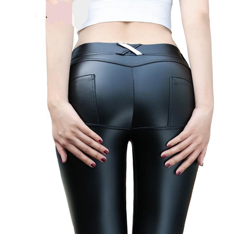 TRY TO BN 4 Colors Low Waist Leggings Women - CLEVERFITS