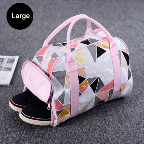 Canvas Speed Small Duffel Bag for Women Fitness Gym Bag - CLEVERFITS
