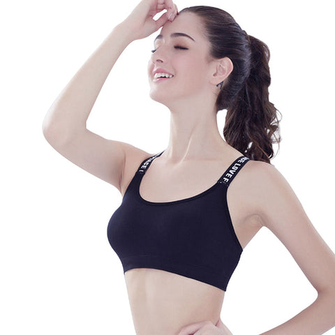 New Style Fitness Women Sports Bra Yoga Padded - CLEVERFITS