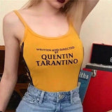 Fashion QUENTIN TARANTINO Printed Side Stripe - CLEVERFITS