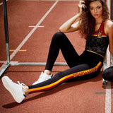 Gryffindor Workout Leggings Letter Printed - CLEVERFITS
