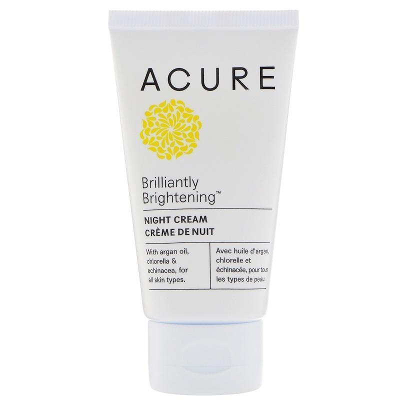 Acure Organics Brilliantly Brightening Night Cream - 1.75 Fl Oz.