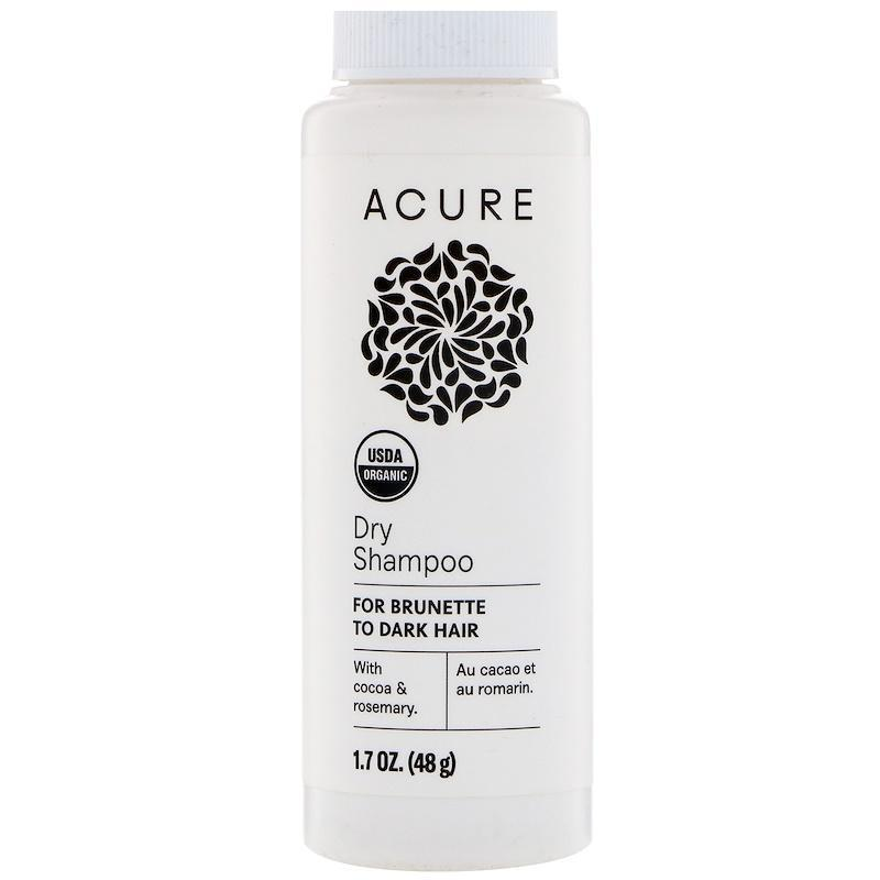 Acure Organics Dry Shampoo For Brunette To Dark Hair - 1.7 Oz