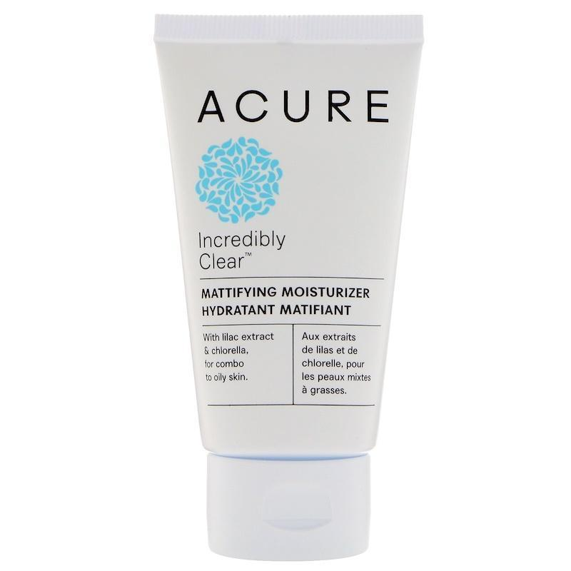 Acure Organics Incredibly Clear Mattifying Moisturizer - 1.75 Fl Oz.
