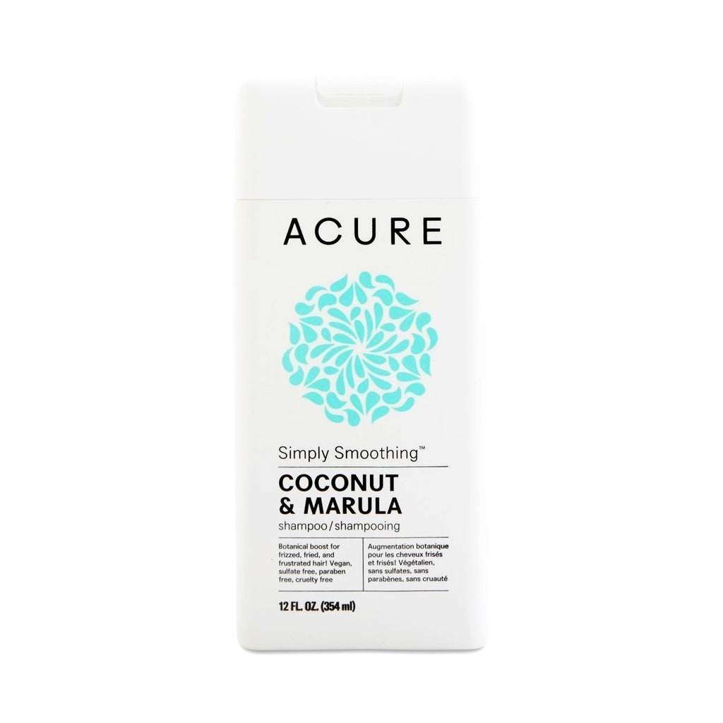 Acure Shampoo - Simply Smoothing - 12 Fl Oz
