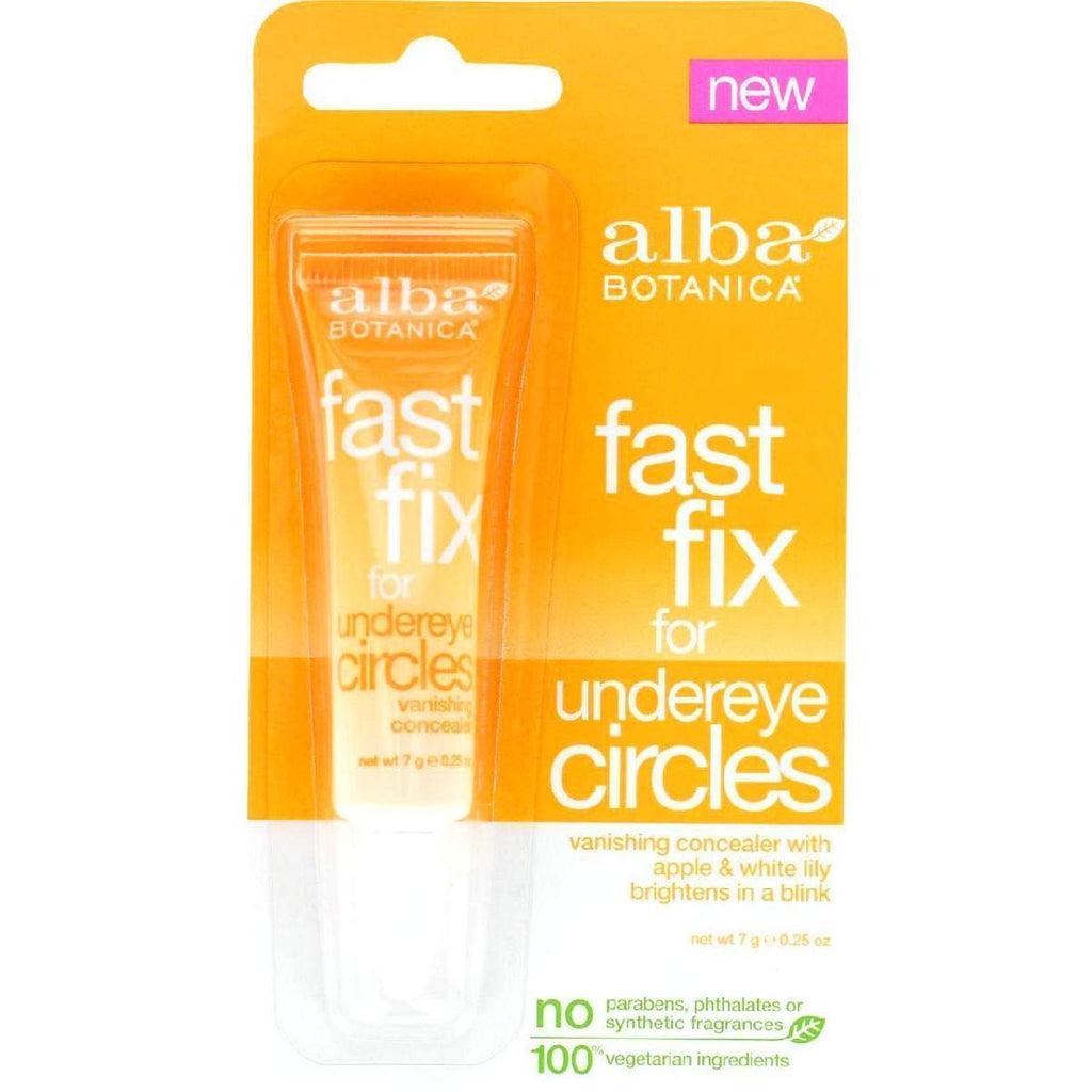 Alba Botanica Fast Fix For Undereye Circles - .25 Oz - Case Of 6