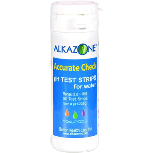 Alkazone Accurate Check Ph Test Strips For Water - 50