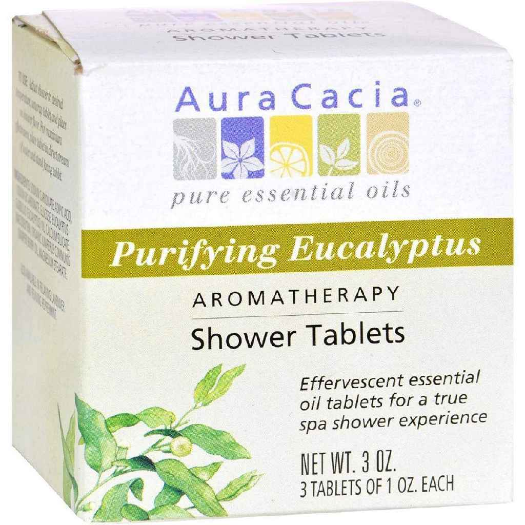 Aura Cacia Purifying Aromatherapy Shower Tablets Eucalyptus - 3