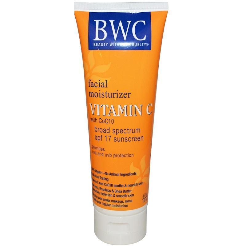 Beauty Without Cruelty Facial Moisturizer Spf 12 Sunscreen - 4 Fl Oz
