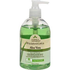 Clearly Natural Pure And Glycerine Hand Soap Aloe Vera - 12 Fl Oz