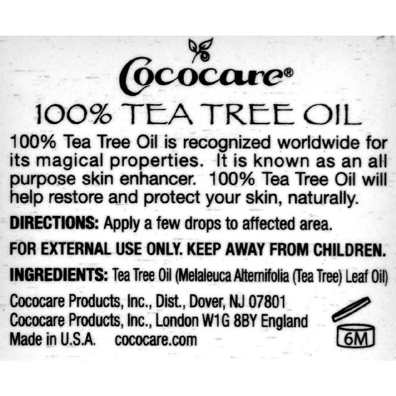 Cococare Tea Tree Oil - 1 Fl Oz