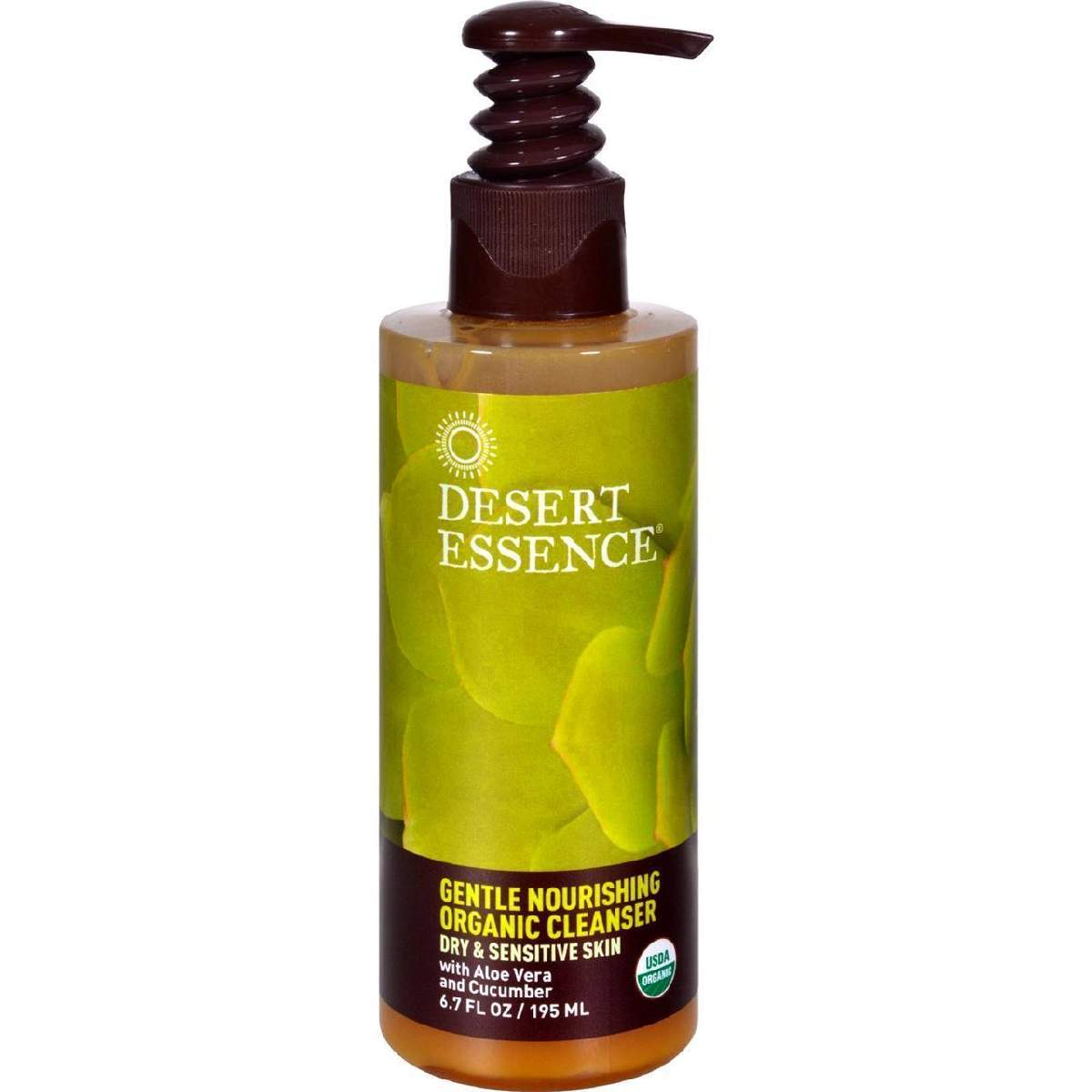 Desert Essence Gentle Nourishing Organic Cleanser - 6.7 Fl Oz