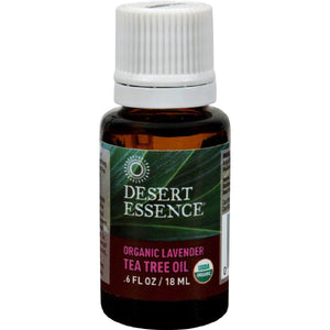 Desert Essence Oil Lavender And Tea Tree - 0.6 Fl Oz