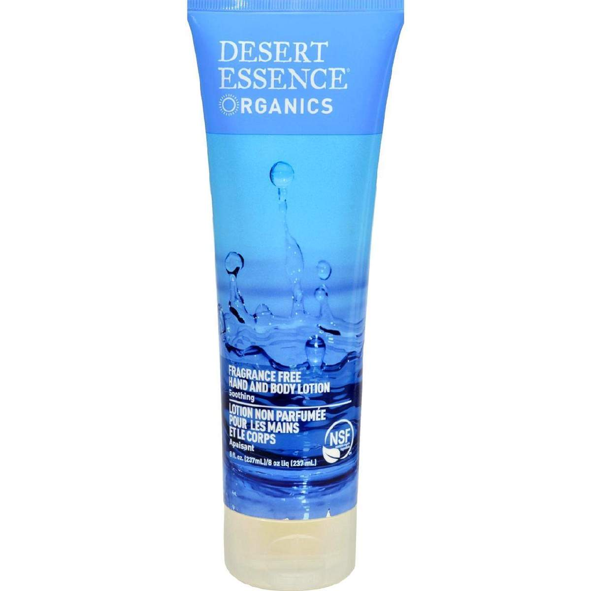 Desert Essence Pure Hand And Body Lotion Unscented - 8 Fl Oz