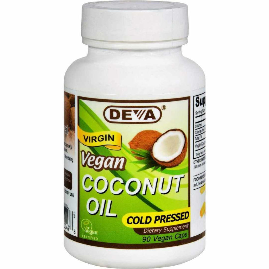 Devan Vegan Vitamins Coconut Oil - - 90 Capsules