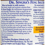 Dr. Singhas Feng Shui Spray - Air Detox - 6 Fl Oz