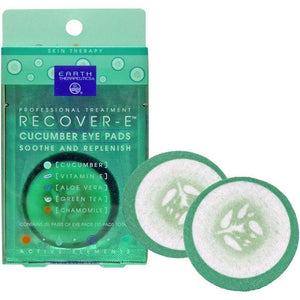 Earth Therapeutics Eye Pads - Cucumber - Recover E - .106 Oz