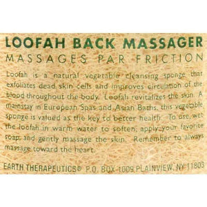 Earth Therapeutics Loofah Back Massager - 1