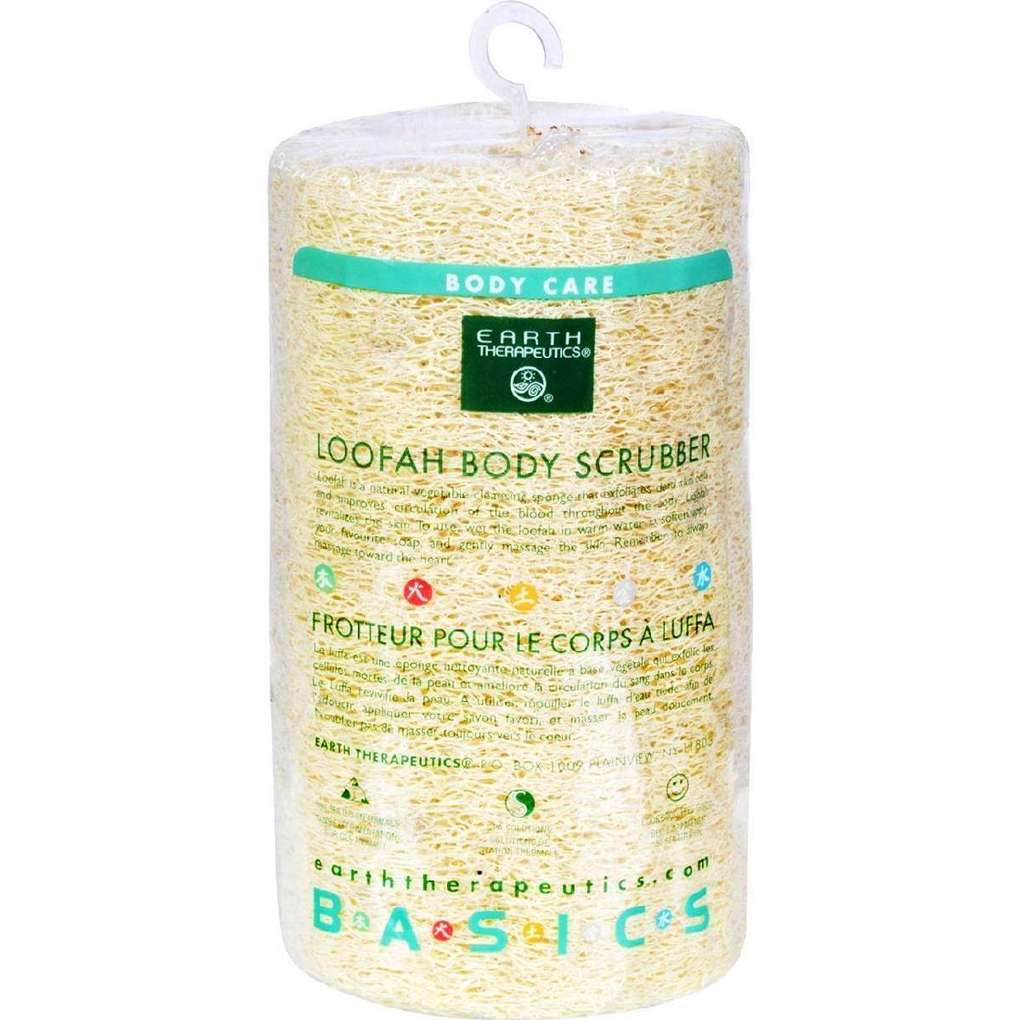 Earth Therapeutics Loofah Body Scrubber - 1