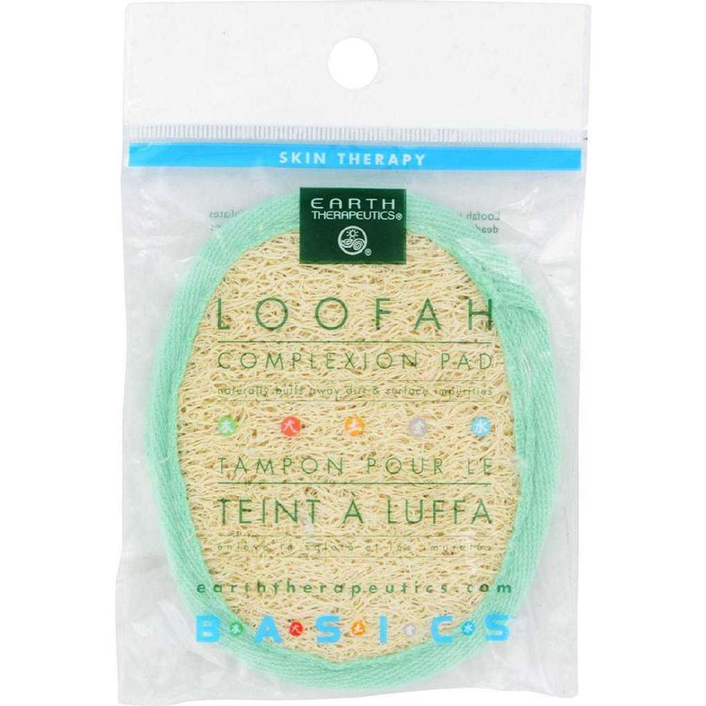 Earth Therapeutics Loofah Complexion Pad - 1