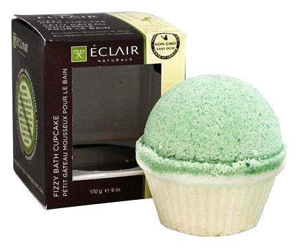 Eclair Naturals Fizzy Bath Cupcake - Eucalyptus Rosemary And Mint - 6 Oz.
