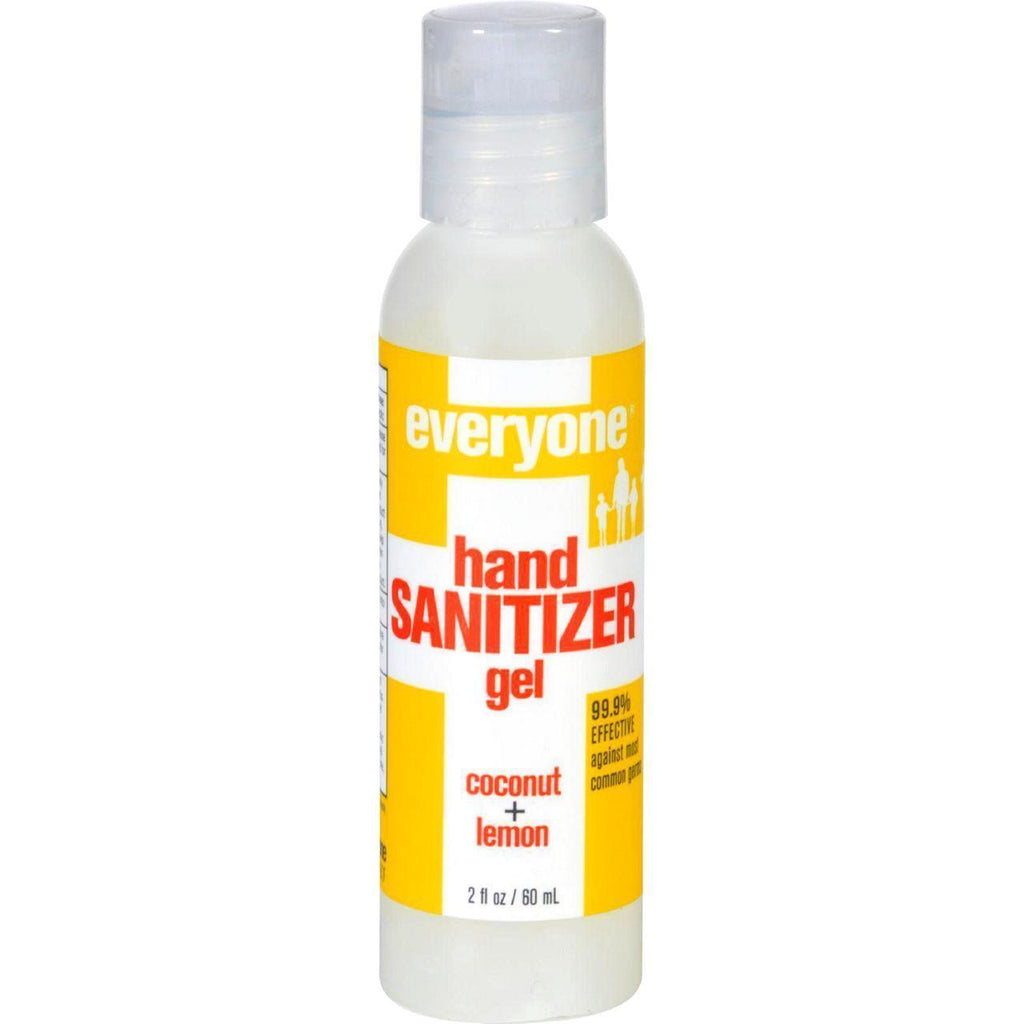 Eo Products Hand Sanitizer Gel - Everyone - Cocnt Lmn - Dsp - 2 Oz - 1 Case