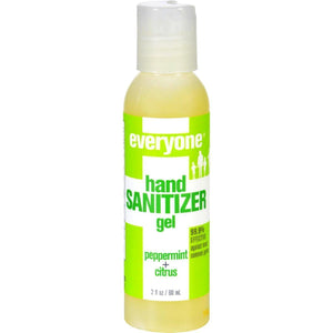 Eo Products Hand Sanitizer Gel - Everyone - Peppermnt - Dsp - 2 Oz - 1 Case