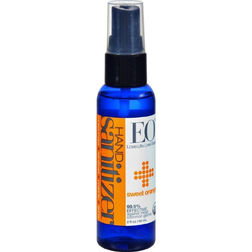 Eo Products Hand Sanitizer Spray - Orange - Case Of 6 - 2 Oz