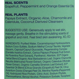 Eo Products Shower Gel - Grapefruit And Mint - 16 Fl Oz